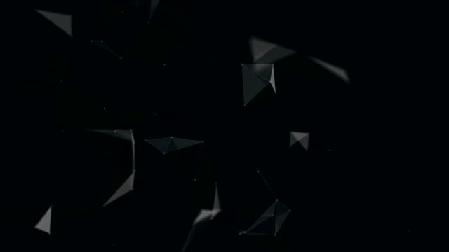Abstract Black Background | Loopable - 4K video