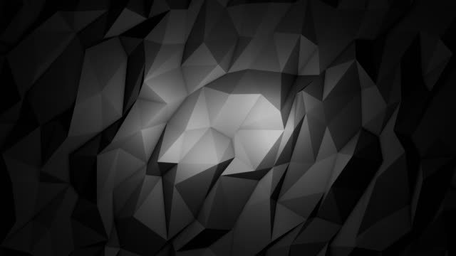 stockvideo's en b-roll-footage met abstracte zwarte achtergrond - low poly modelleren