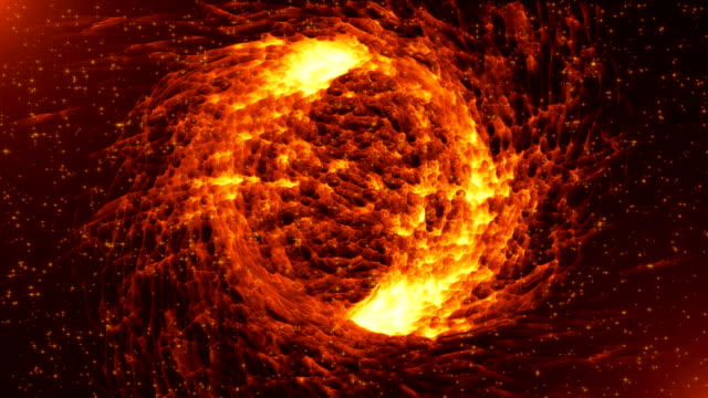 Abstract  black hole background