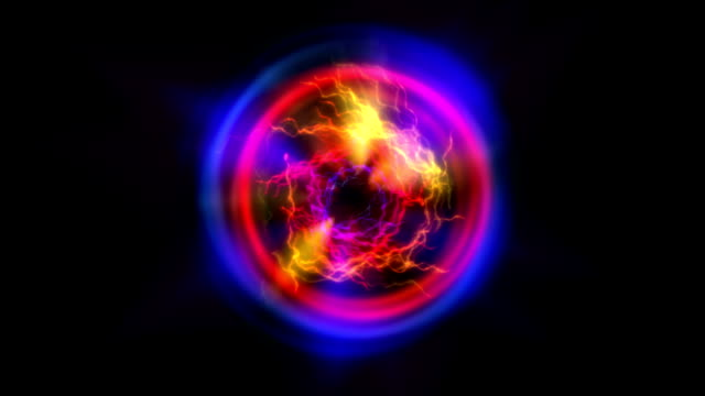 abstract black hole video