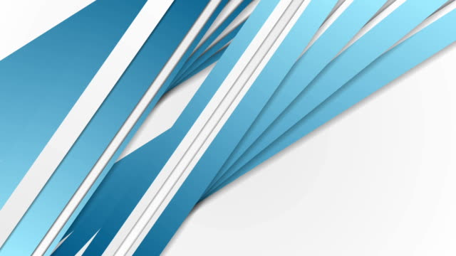 Abstract blue and grey stripes corporate video animation video