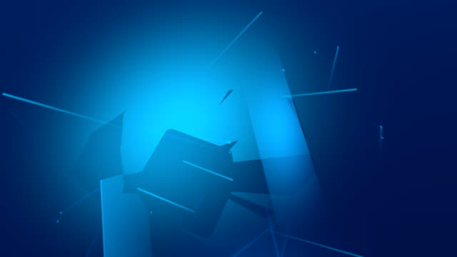 Abstract Blue background HD video