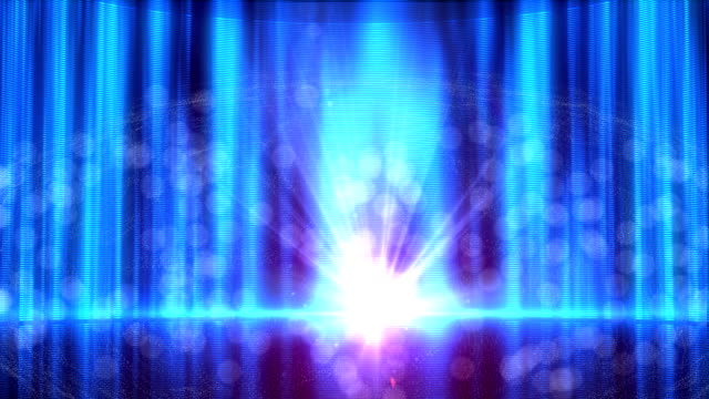 Abstract blue background video