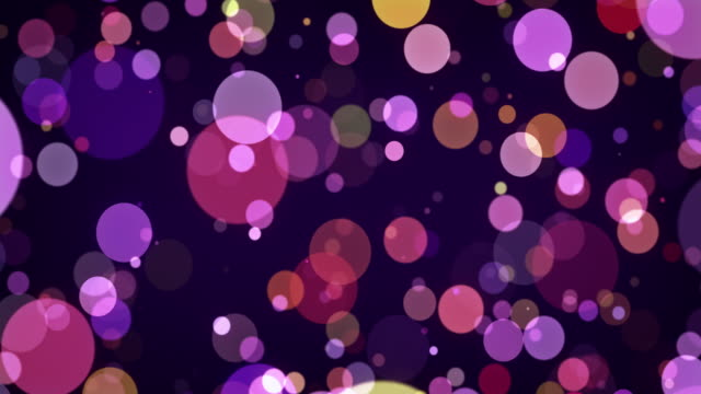 stockvideo's en b-roll-footage met abstract blauw circulaire bokeh achtergrond - christmas tree