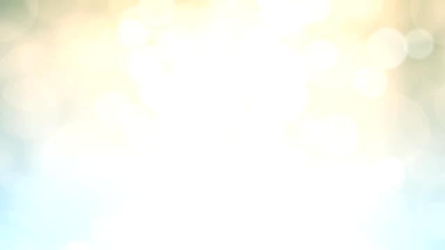 vidéos et rushes de abstrait bleu flou fond de lumières - douceur