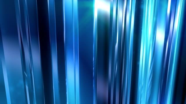 abstrakt blau glas hintergrund schleife - rechteck stock-videos und b-roll-filmmaterial