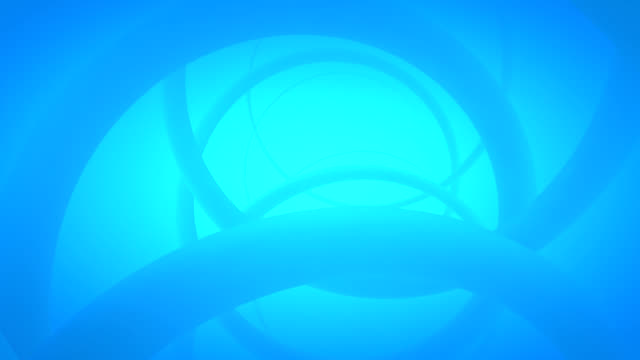 (Loop)Abstract Blue helix 3d background animation-HD video