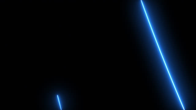 Abstract blue light motion.Animation of a laser beam on a black background.Realistic beam.Star fall in night Abstract blue light motion.Animation of a laser beam on a black background.Realistic beam.Star fall in night laser stock videos & royalty-free footage