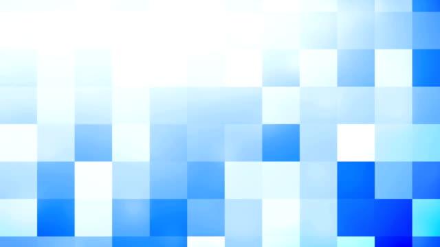 抽象的な青い移動正方形の背景 - 4 k - 立方体点の映像素材/bロール