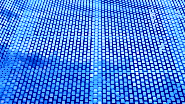 Abstract  Blue square background, a real shot video video