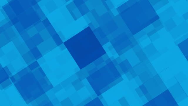 Abstract blue squares background video