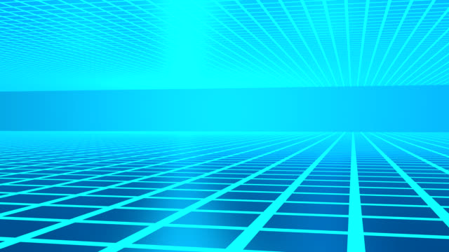 abstract blue tunnel background mesh HD animation video