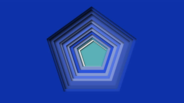 3D abstract blue wave background with paper cut shape Vector design outline for business presentations, animation video