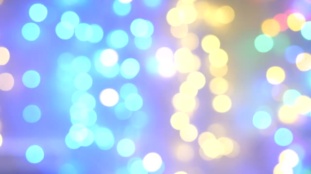 luci sfocate astratte sfondo bokeh - soft focus video stock e b–roll