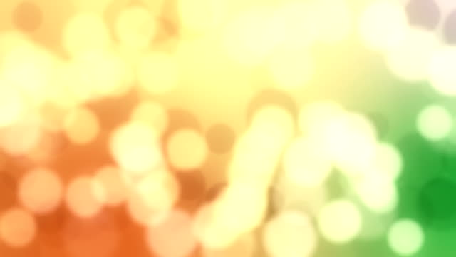 Abstract bokeh background loop video