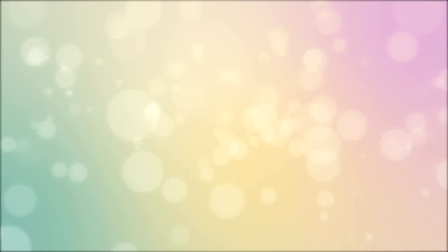 Abstract bokeh background video