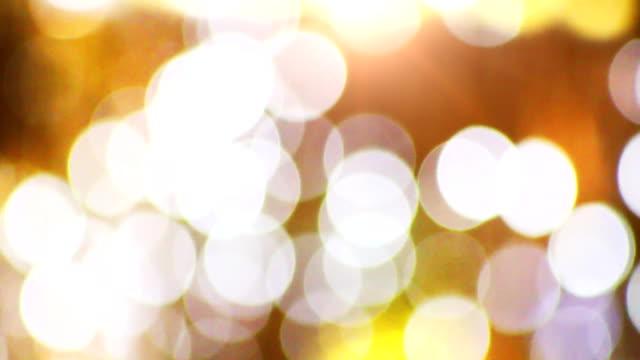 abstract bokeh light video