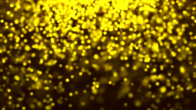 Abstract Bokeh Particles Background with Infinite Loop