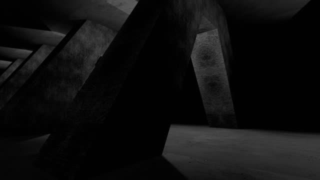Abstract bridge, computer graphics animation