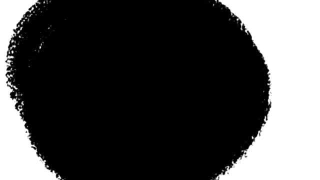 abstract brush stroke paint footage. charcoal black grunge drawing on white background animation. dirty simple brushstroke texture. dry ink effect creative minimalist backdrop video - texture computer video stock e b–roll