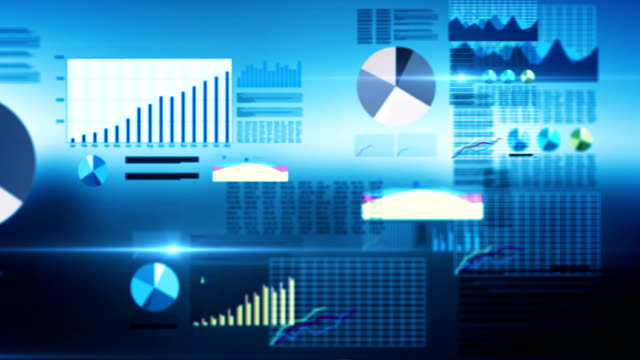 Abstract Business Graphs video