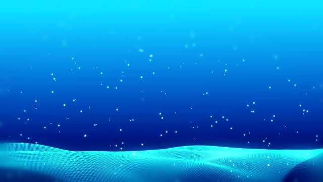 vídeos y material grabado en eventos de stock de las olas fractales abstractas de las nevadas de navidad movimiento nievedrifts. fondo de la tarjeta de plantilla 4k uhd bucle de vídeo. - nieve amontonada