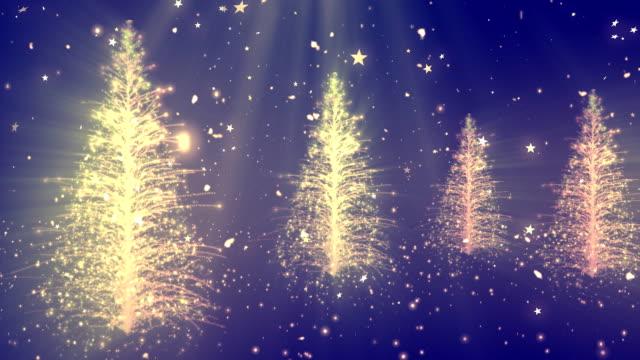Abstracto árbol de Navidad 1 - vídeo