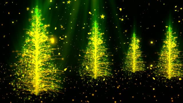 Abstracto árbol de Navidad 2 - vídeo