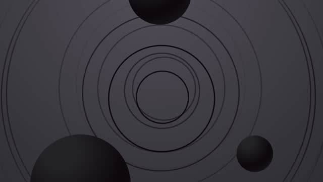 Abstract Circles And Spheres