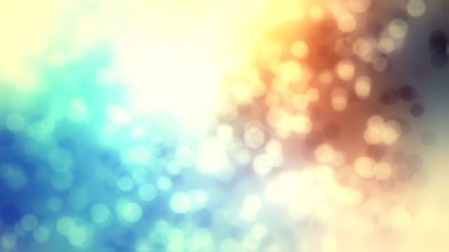 Abstract circles motion loop video