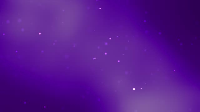 Abstract Clean Blurred Soft Beautiful Glitter Dust Tiny Moving Rising Glitter Bokeh Particles Soft Loopable Background Defocused Particles purple stock videos & royalty-free footage