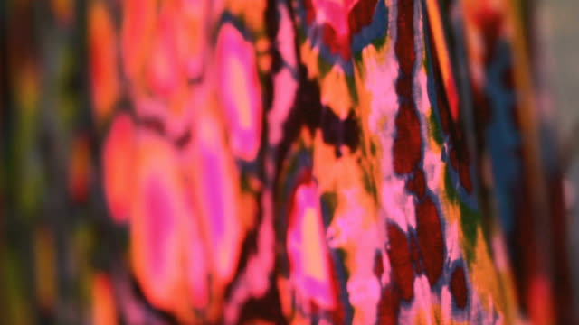 Abstract Cloth video