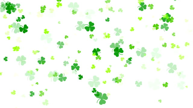 Abstract Clover Leaf Background, St Patric Day