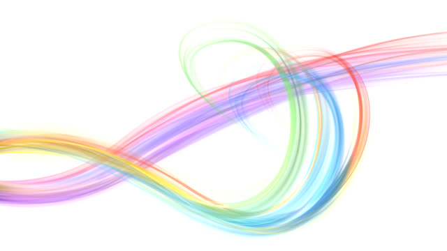Abstract colored lines