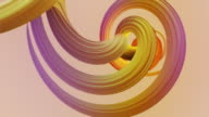 istock Abstract colorful pastel swirl, natural curve art background. Curved and wavy pattern with Candy texture and subsurface scattering. 3D render loop 1211981637