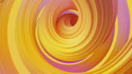 istock Abstract colorful pastel swirl, natural curve art background. Curved and wavy pattern with Candy texture and subsurface scattering. 3D render loop 1211982752