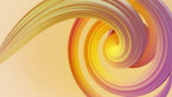 istock Abstract colorful pastel swirl, natural curve art background. Curved and wavy pattern with Candy texture and subsurface scattering. 3D render loop 1211983671