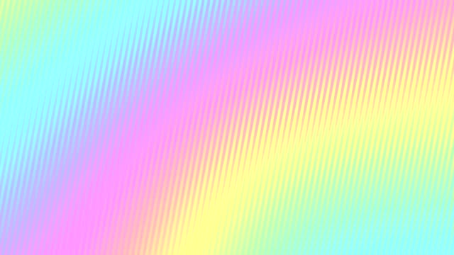 abstract colorful stripes in a rainbow rippling. looped animation. seamless background. 4k - sfondo multicolore video stock e b–roll
