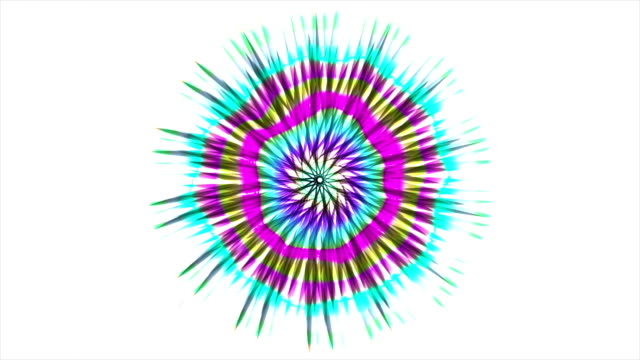 Abstract Coloured Pattern With White background 12 video