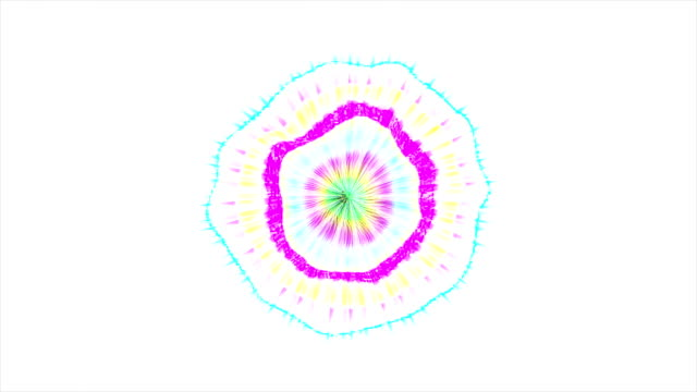 Abstract Coloured Pattern With White background 8 video