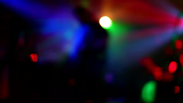 Abstract Concert Lights video