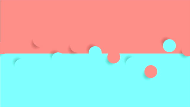 Abstract contrast geometric minimal bright video animation