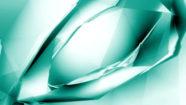 """Abstract Crystal """"Eye"""" - Aqua  double refraction stock videos & royalty-free footage"""