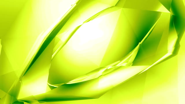 """Abstract Crystal """"Eye"""" - Lime  double refraction stock videos & royalty-free footage"""