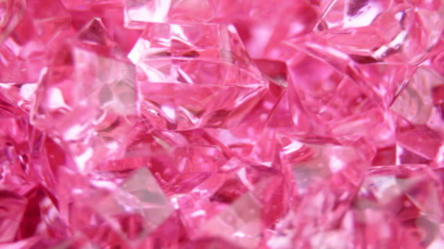 Abstract crystal pink background loopable video