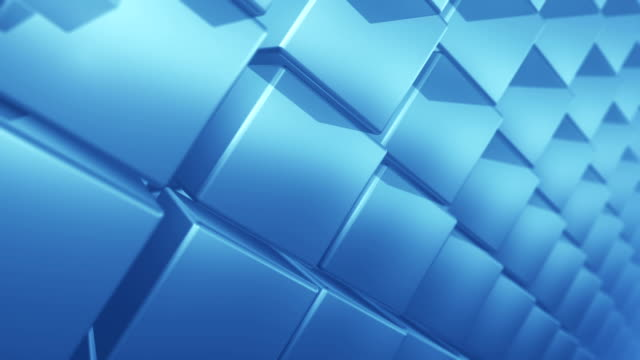 Abstract Cube Background - Loop video