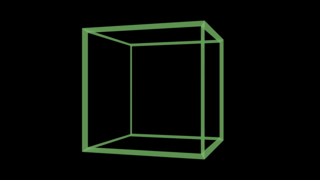 abstract cube spinning abstract cube, spinning, rotating and changing his color twisted stock videos & royalty-free footage