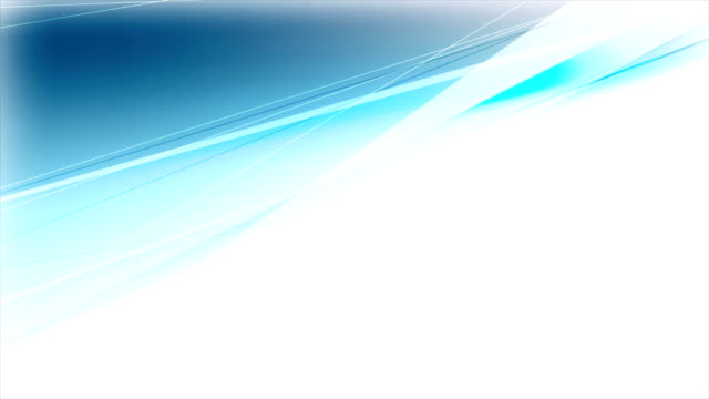 Abstract cyan blue stripes video animation video