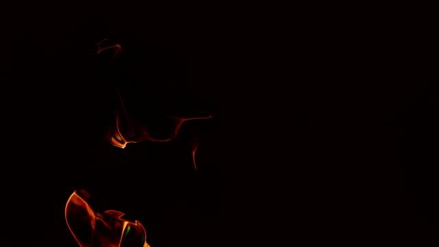 Abstract dark background video