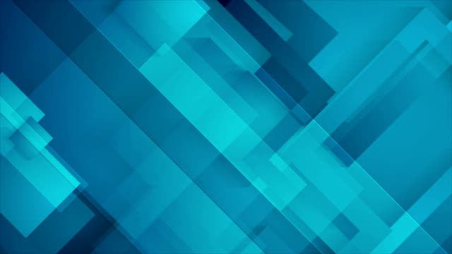 Abstract dark blue technology geometric video animation Abstract dark blue technology geometric motion graphic design. Seamless looping. Video animation Ultra HD 4K 3840x2160 square composition stock videos & royalty-free footage